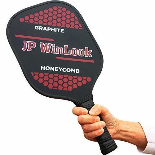 Holding JP WinLook Pickleball Paddle