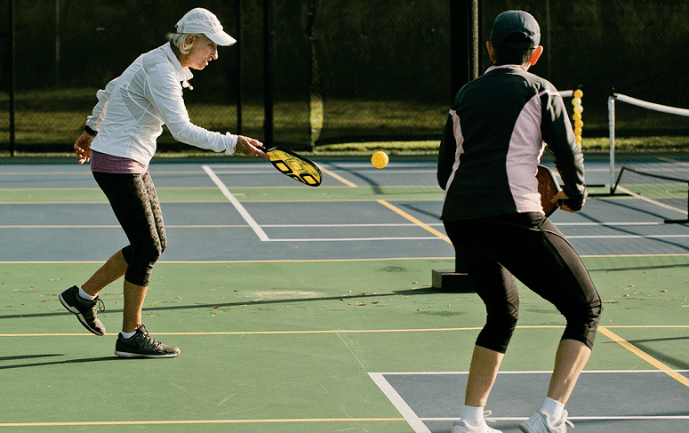 Doubles In Pickleball