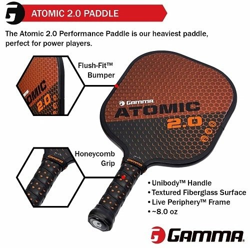 Gamma Sports Pickleball Paddle Features